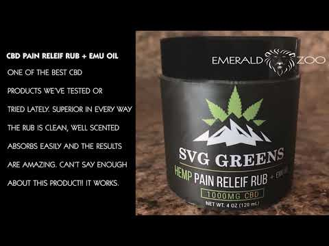 Emerald Zoo Den: SVG Greens & Hempin' Ain't Easy CBD Products Review